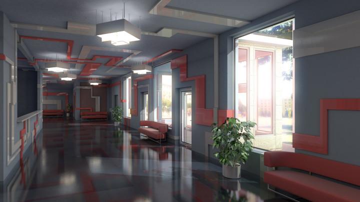 Gray interior view #1